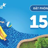 Giảm ngay 15% khi đặt phòng khách sạn trên Traveloka