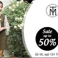 Giảm tới 50% tất cả các sản phẩm tại TM Timeless Mode Thái Hà