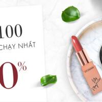 Ưu đãi mỹ phẩm làm đẹp đến 50% tại Lotte.vn