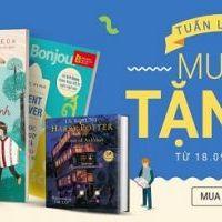 Tuần lễ sách mua 5 tặng 1 tại Tiki