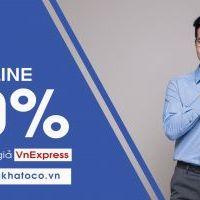 Khatoco – Thời trang công sở nam ưu đãi dành riêng cho độc giả VnExpress khi mua trực tuyến