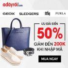 Phụ kiện thời trang ưu đãi đến 50% tại Adayroi.com