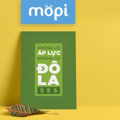 Tranh Mopi giảm 10% hóa đơn + tặng tranh 290.000 đồng