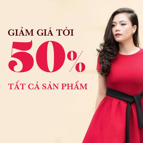 Giảm tới 50% tất cả sản phẩm tại TM Timeless Mode Thái Hà