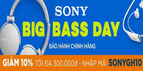 Lazada tặng mã giảm 10% trong Ngày hội âm thanh Sony