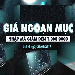 Mua hàng công nghệ tại Lotte.vn với giảm đến 1.000.000VND duy nhất một ngày